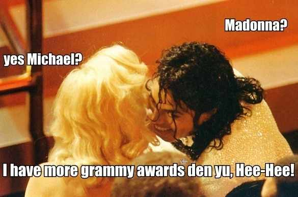 Michael Jackson Madonna Meme