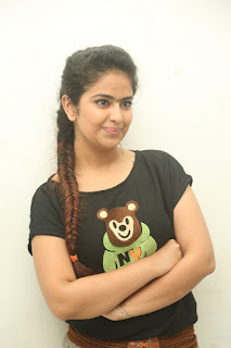 Avika gaur in a T Shirt and Trousers spicy Pics at CCM Thank