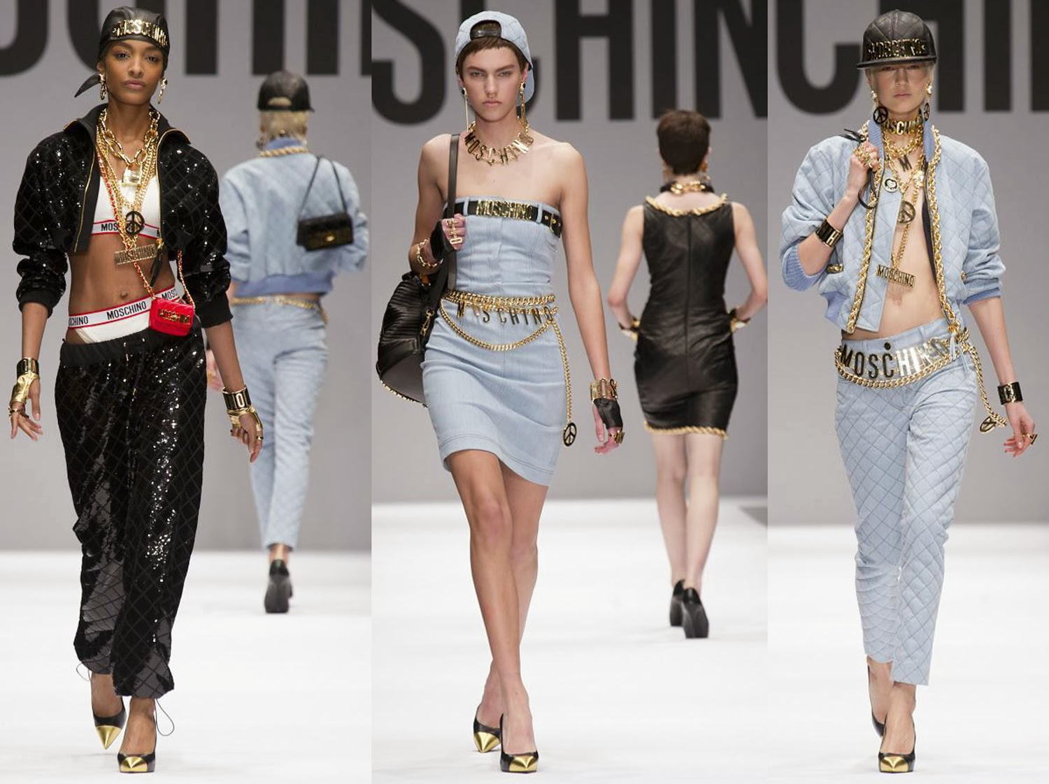 Moschino Autumn Fall Winter 2014 5