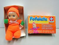 Boneca Fofolete, da Estrela.