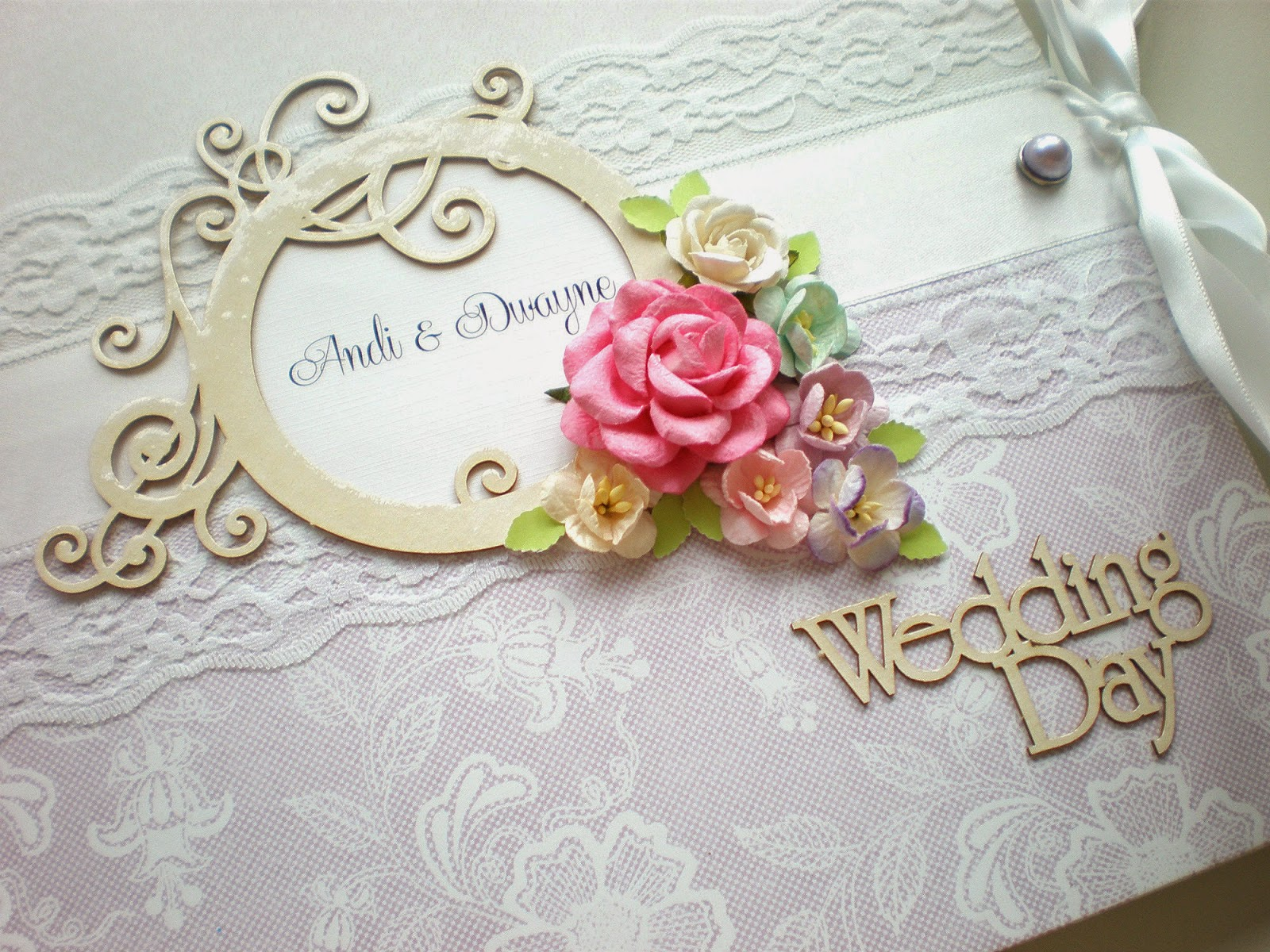 Svadobný album fialkový / Wedding album lila