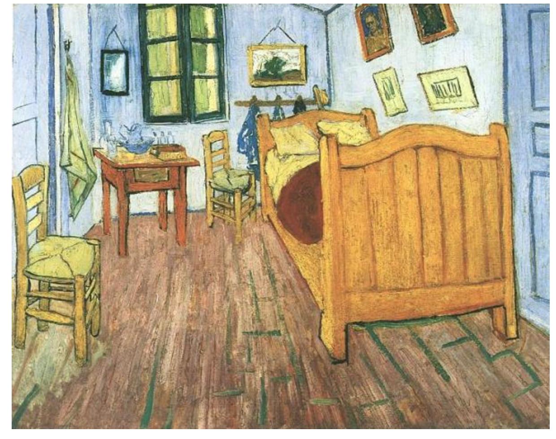 van gogh s bedroom at arles liechtenstein s bedroom at