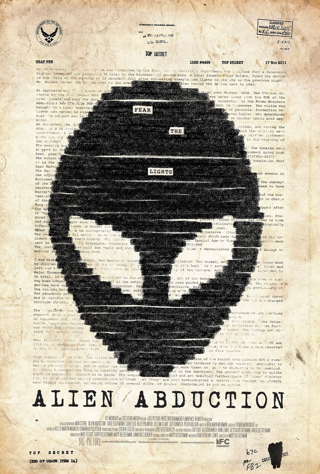 Alien Abduction (V.O.S) (2014)
