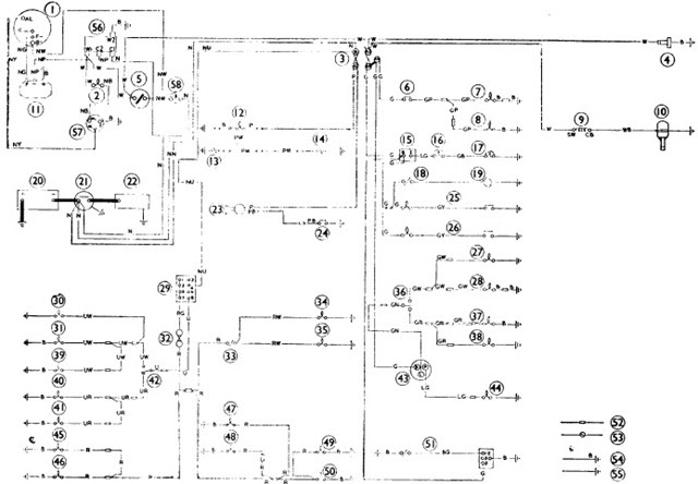 Free Auto Wiring Diagram  Morris Minor Wiring Diagram