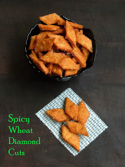 Spicy Wheat diamon cuts