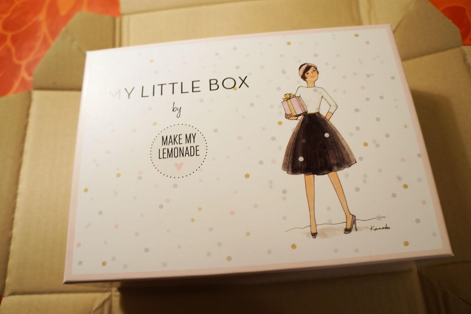 origigab my little box x make my lemonade d cembre 2014. Black Bedroom Furniture Sets. Home Design Ideas