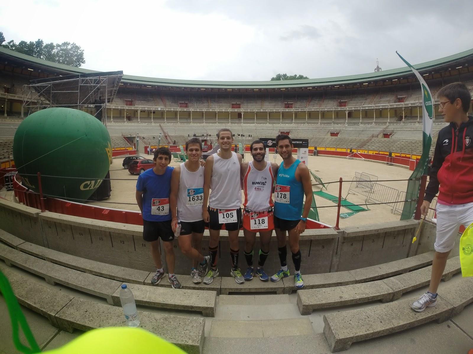 san fermin maraton pamplona 2014