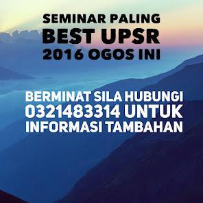 SEMINAR UPSR 2016