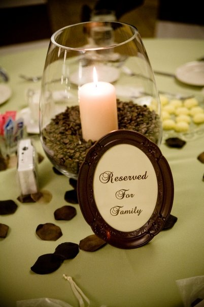 Quot i will love you forever centerpieces