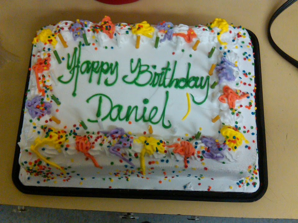 Birthday Cake Images For Daniel : What I Learned from Daniel : The Blog: Happy Eighteenth ...