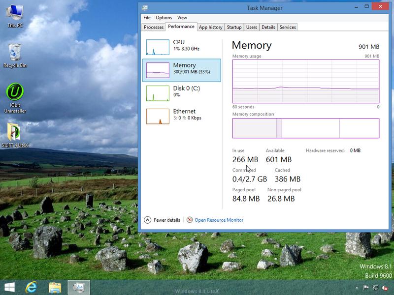Windows 8.1 Update 1 LiteX