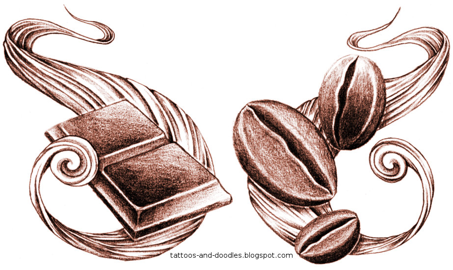 Doodle art on pinterest zentangle doodles and zentangles for How to draw a coffee bean