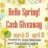 Hello Spring $800 Cash Giveaway! {Ended}