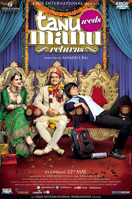 Tanu Weds Manu Returns 2015 Hindi pDVDRip 350mb (Audio Cleaned)