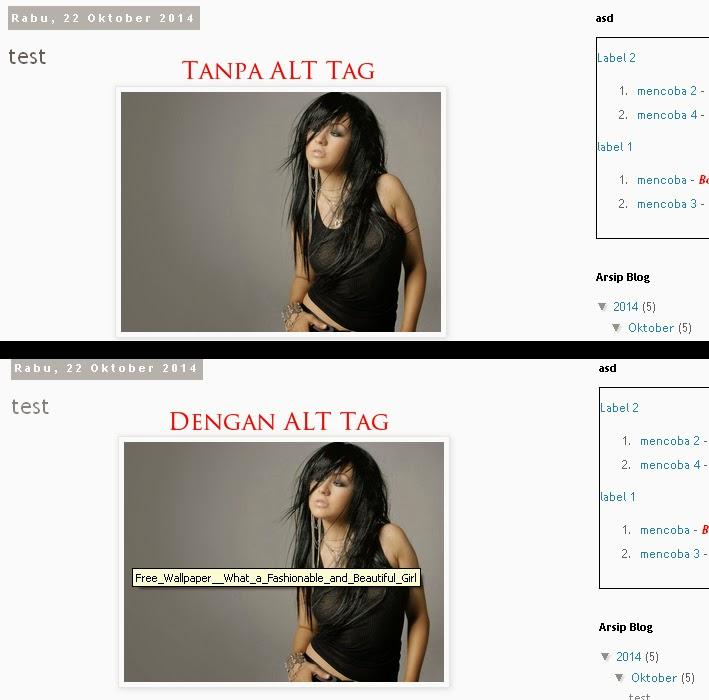 Cara Membuat ALT Tag Otomatis Pada Gambar