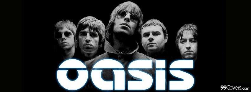 Capas para Facebook: Lendas do Rock ~ Kpas para Facebook Oasis Band Album Cover