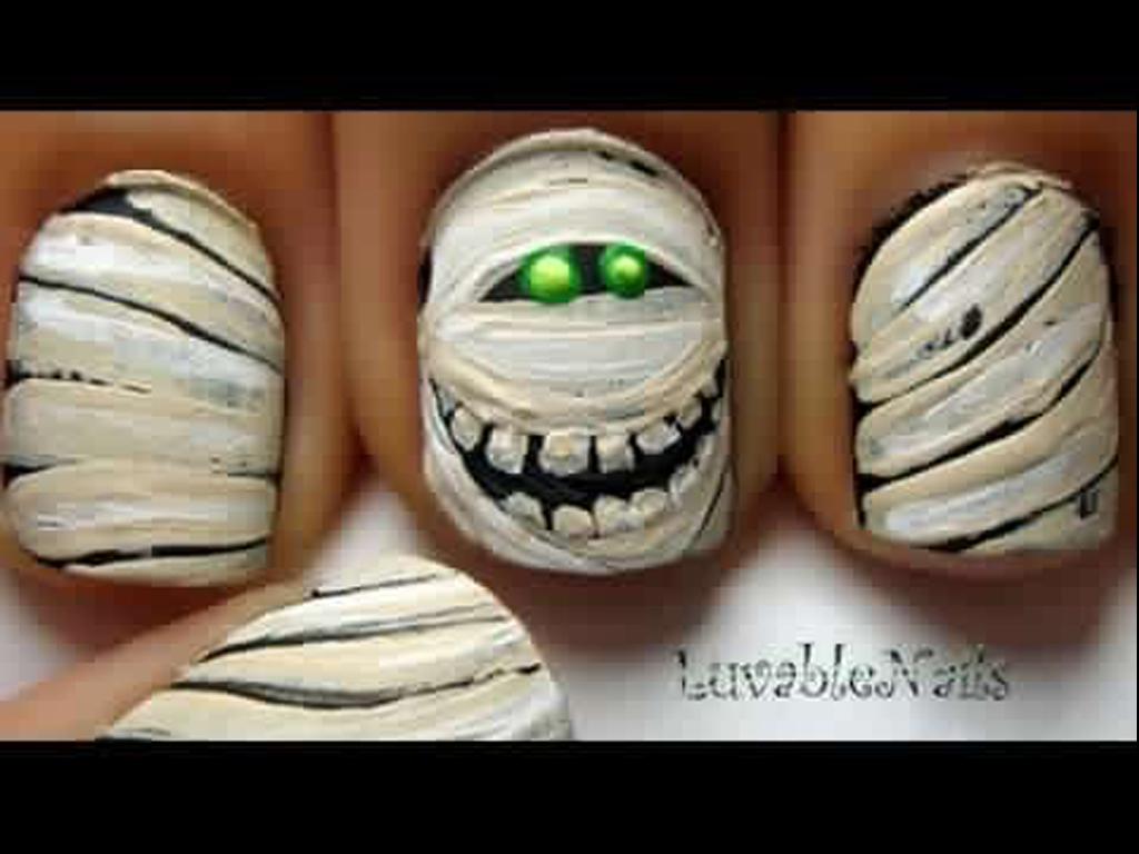 Nail Art Design Ideas For Halloween