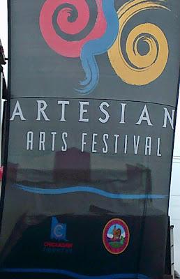 2015 Artesian Arts Festival.