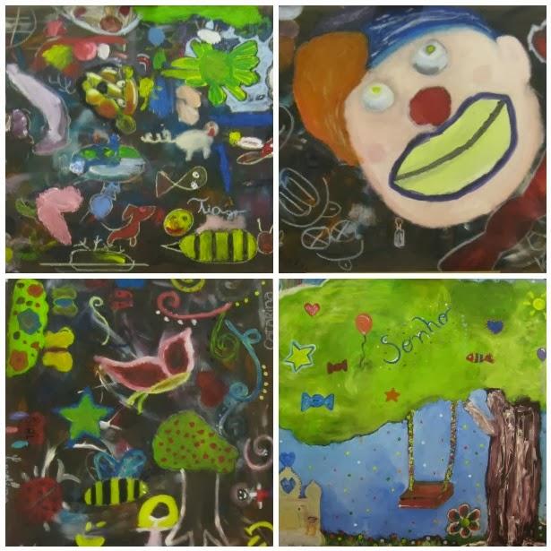 """Workshop de pintura no """"15"""" - a criatividade no seu auge"""