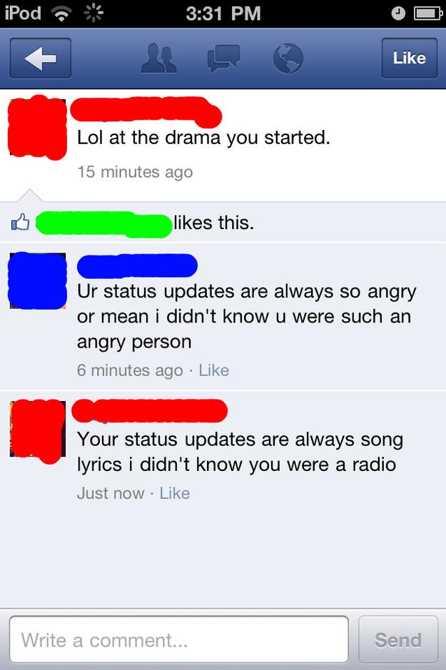 Image Funny Facebook Comebacks Download