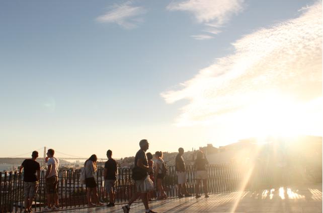 mirador de santa catarina Lisboa