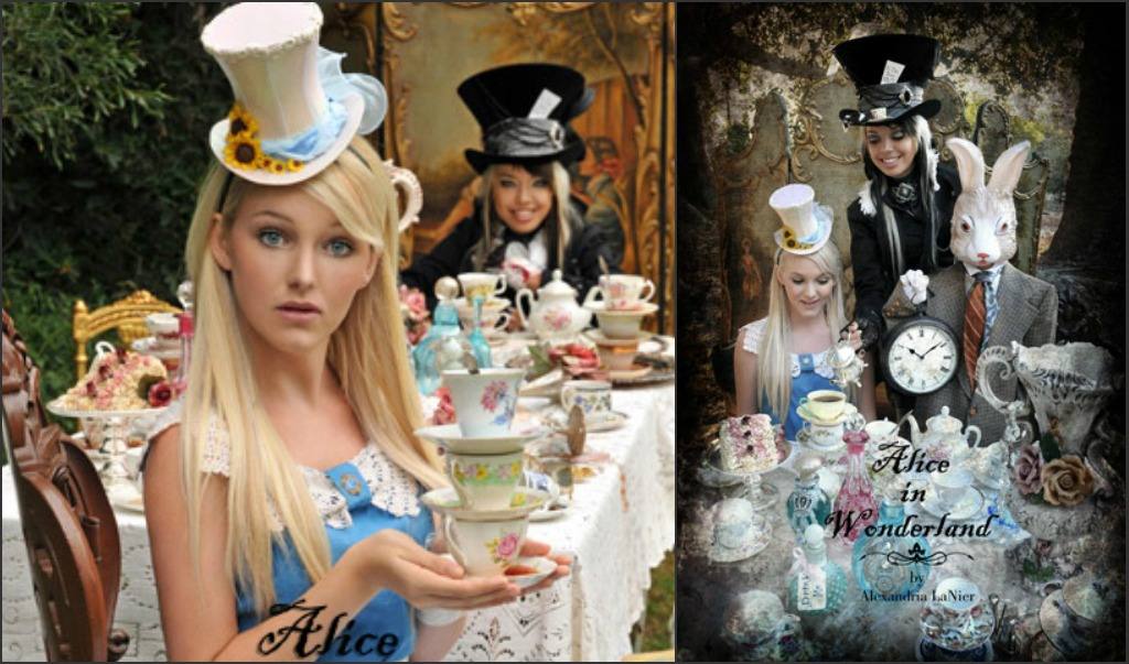 alice wonderland mad hatter tea party images