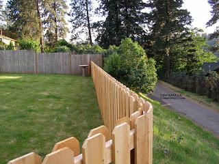 Деревянный забор. Фото 89