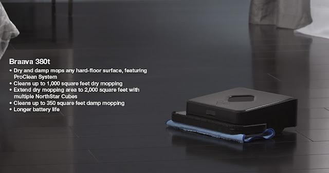 product reviews irobot braava 380t floor mopping robot - Irobot Braava 380t
