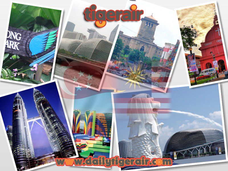Ve may bay di Singapore va Malaysia gia re dailytigerair