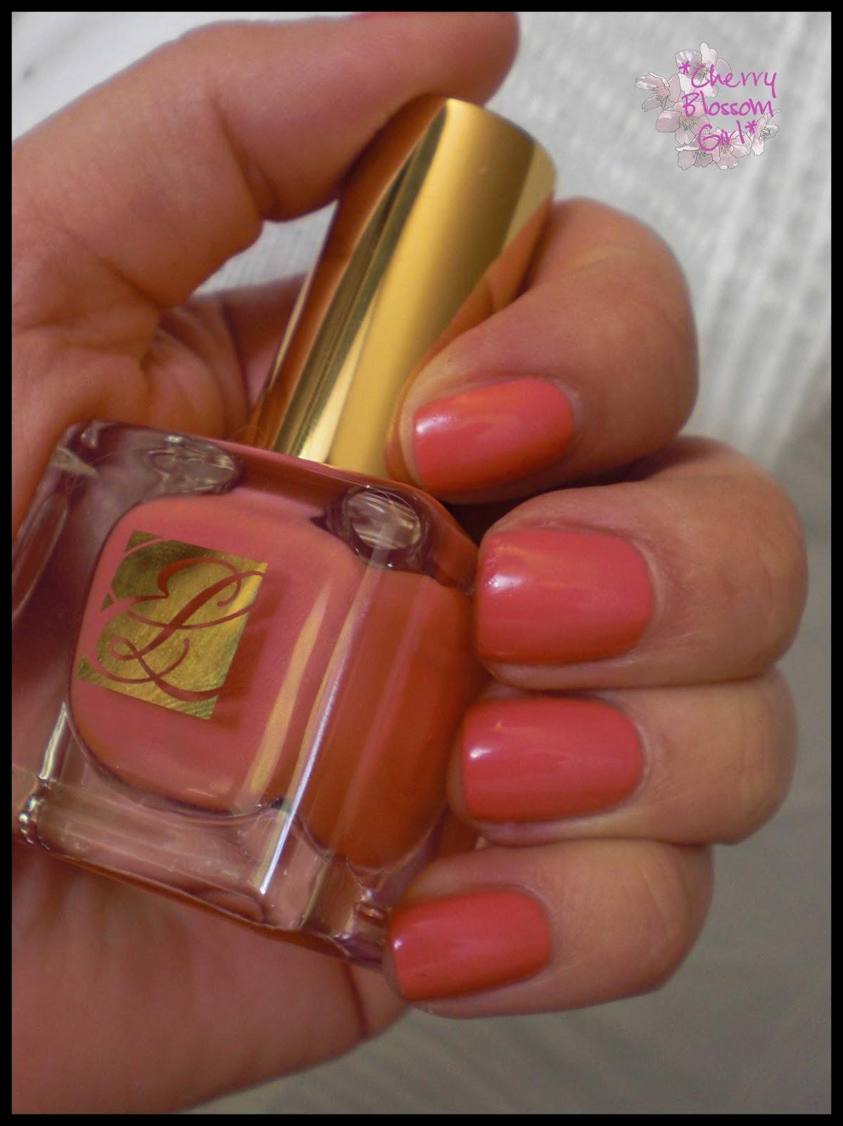 Cherry Blossom Girl: Lackiert: Estée Lauder Pure Color Nagellack ...