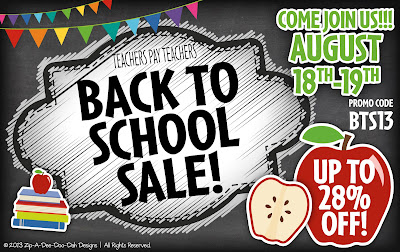 Teachers Pay Teachers Back to School Sale, Keeping it Captivating