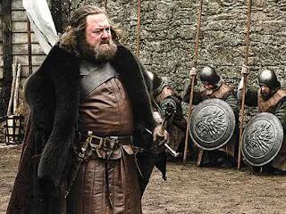 El Rey en invernalia para pedir a Eddard que sea su mano