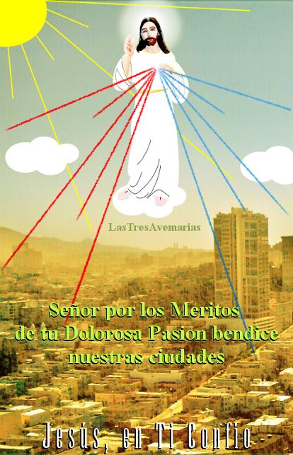 imagen para orar por la ciudad donde vivas a las tres de la tarde