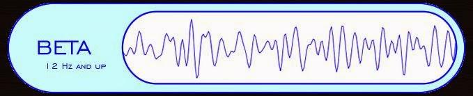 Gelombang Beta (frekuensi 11-25 Hz)