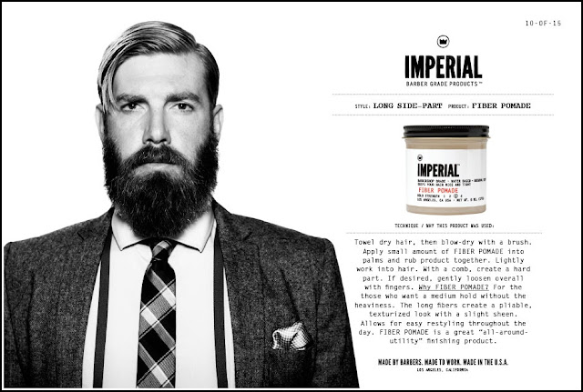 Imperial Barber Products Classic Pomade Style Guide Slide