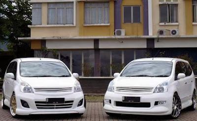 foto modifikasi nissan grand livina