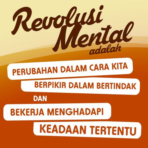 Revolusi Mental