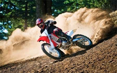 Aksi motocross