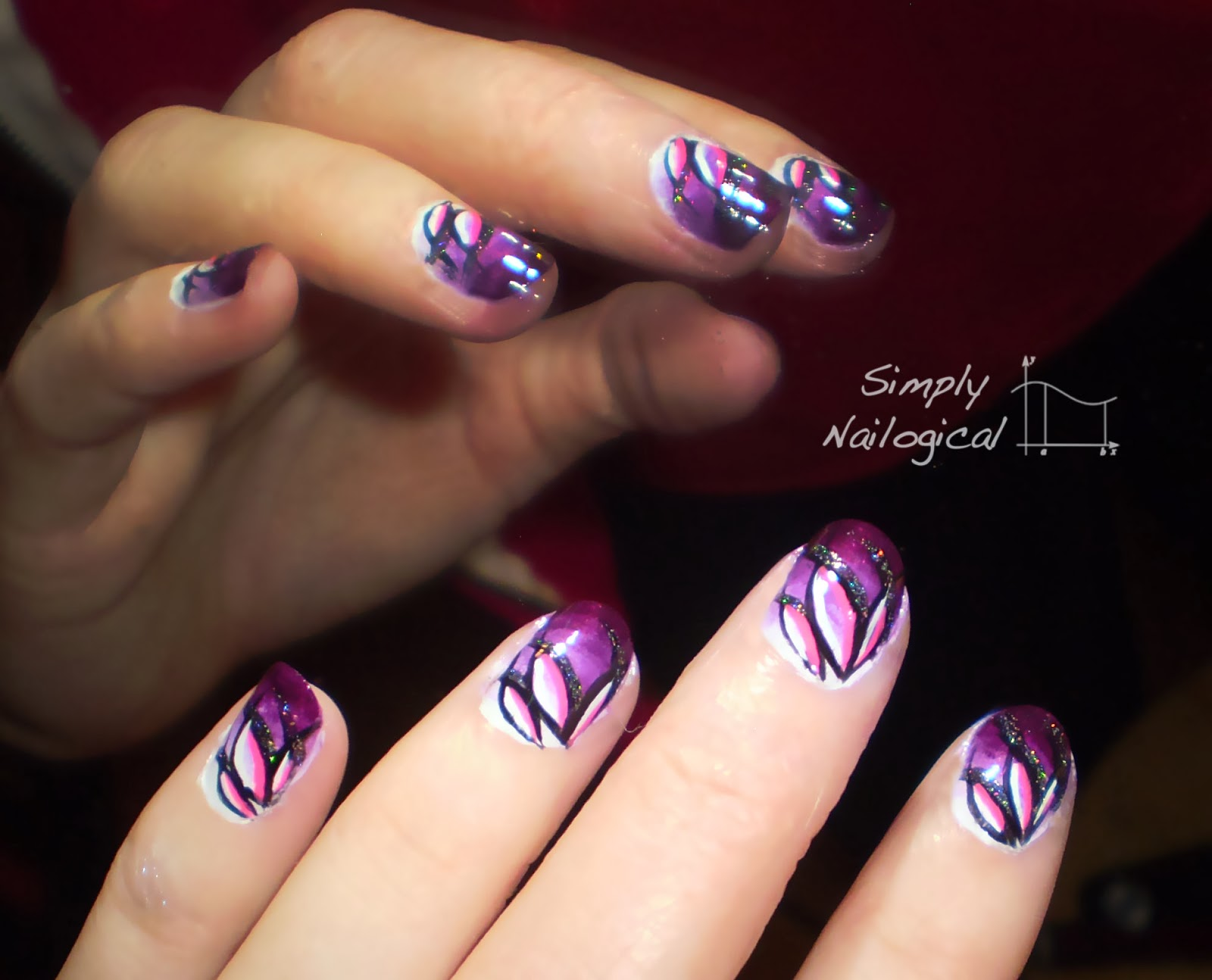 Simply nailogical gradient lotus flower archives again gradient lotus flower archives again dhlflorist Image collections