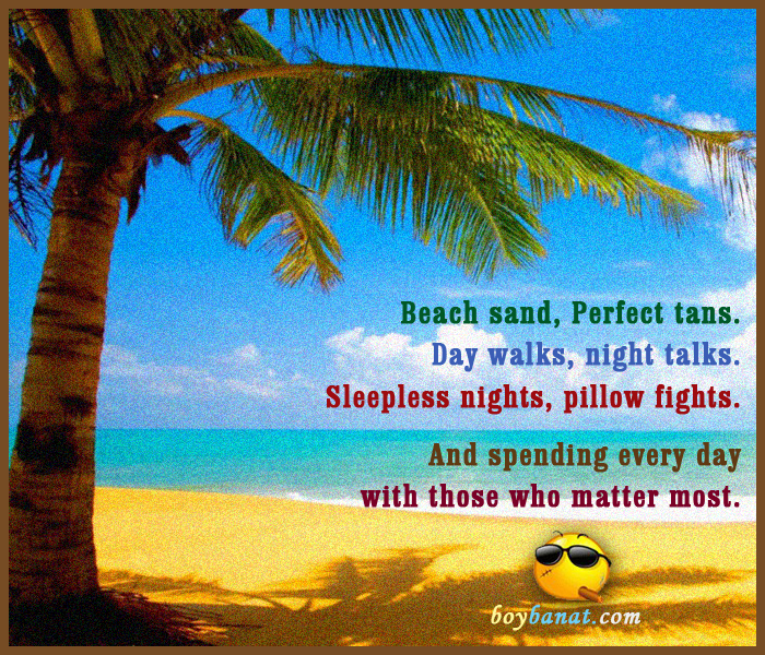 famous cute summer quotes and sayings boy banat