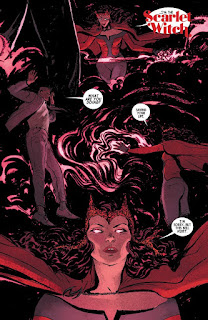 Page 17 of The Scarlet Witch #1 from Marvel Comics