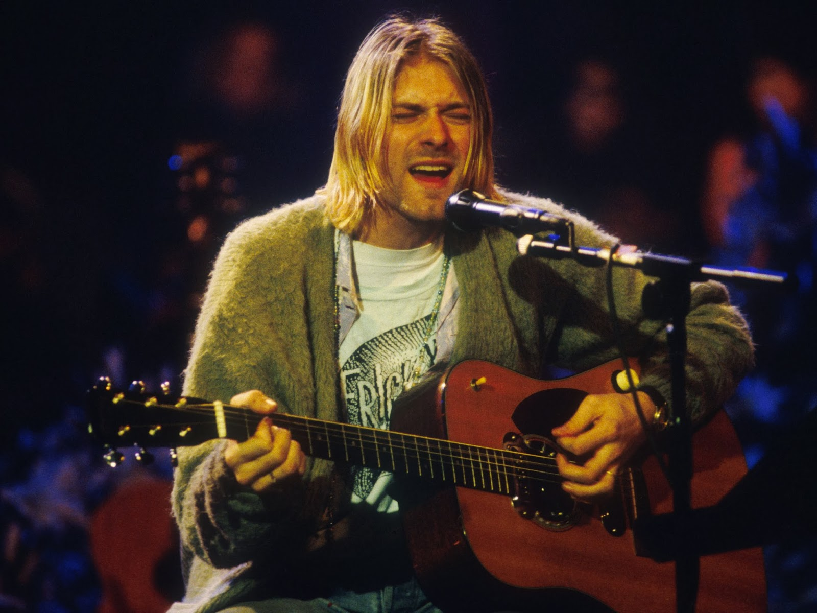 This year marks twenty years since Kurt Cobain d What you don t know who Kurt Cobain was Now I do feel old
