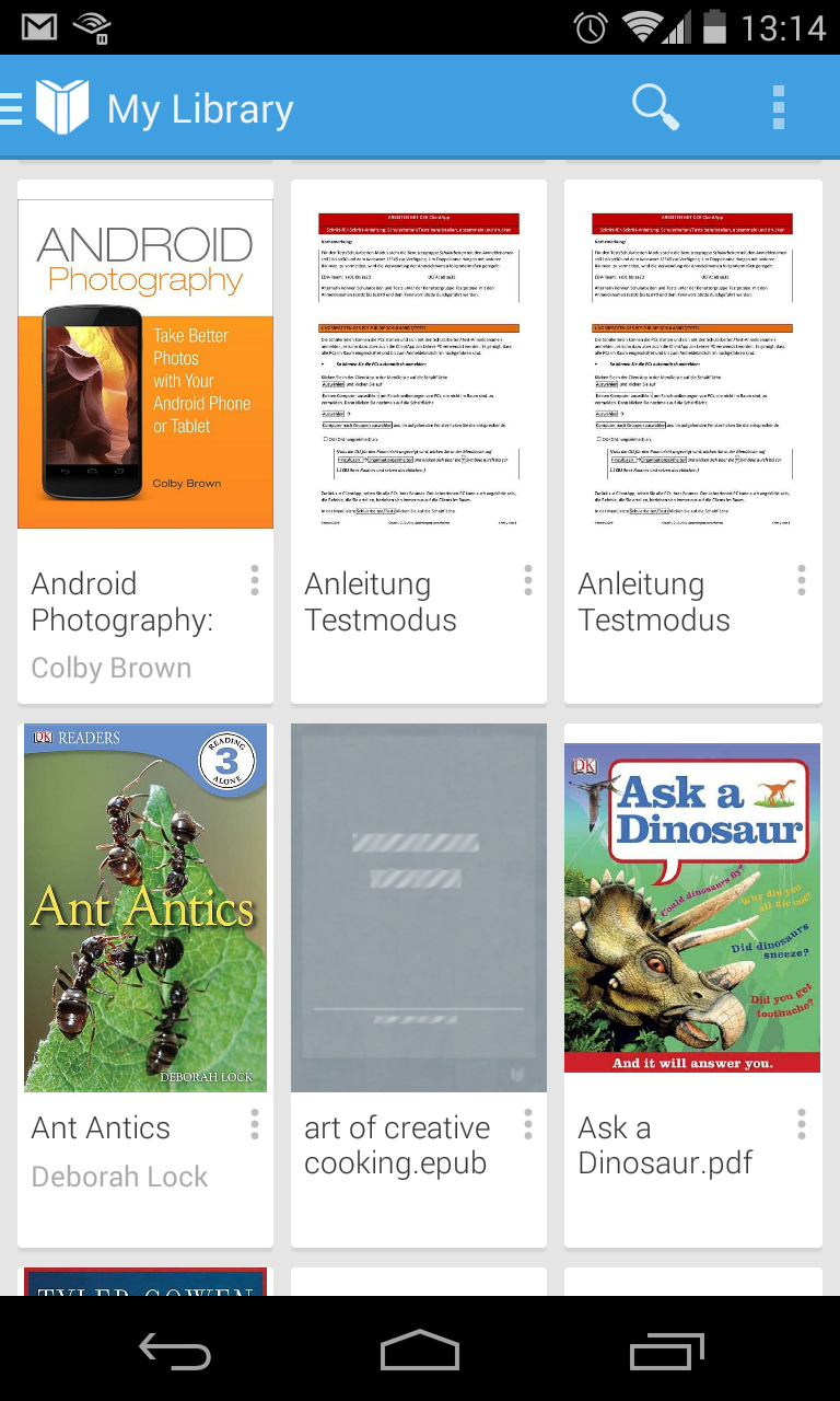 G learning managing ebooks with google drive and play books fandeluxe Choice Image