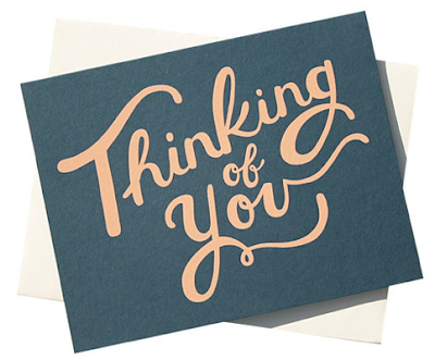 Thinking Of You Card from Rifle Paper Co.