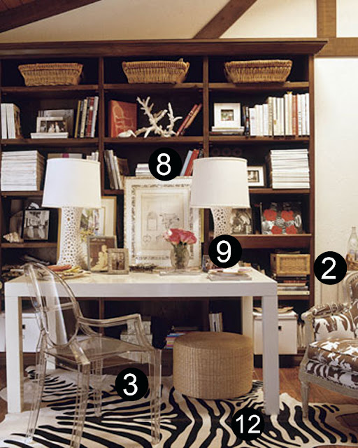 LA, classic design, office, desk