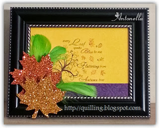 Antonella's Every Autumn Leaf Freebie Quote