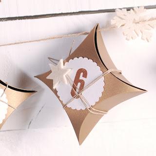 calendario de adviento diy cajitas cajas self packaging colgar