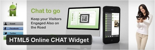 HTML5 Online CHAT Widget plugin