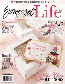 Cover Girl of Somerset Life Spring 2012
