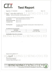 Metal Beads Pass Spot Test Of Nickel Release Manufacturer - Hong Kong Li Seng Co Ltd